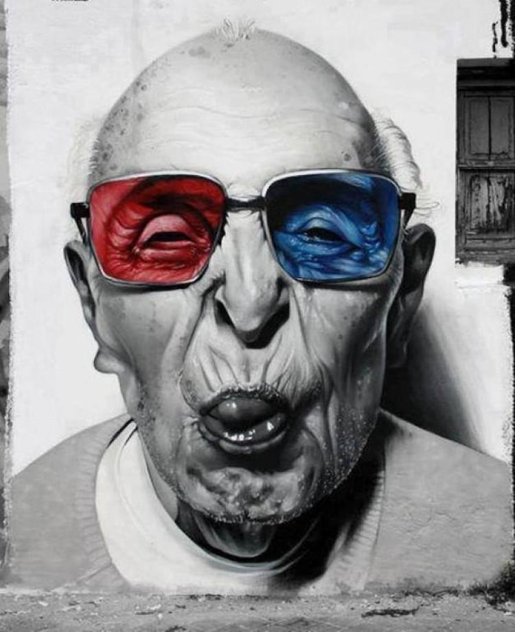 Okulary Man-o-Matic.