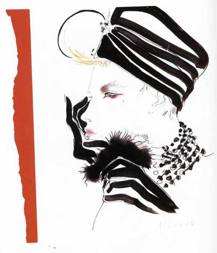David Downton - mistrz ilustracji mody.