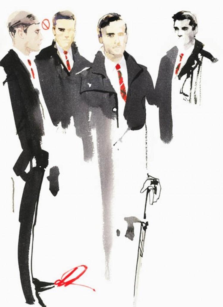 Moda męska oczami Davida Downton.