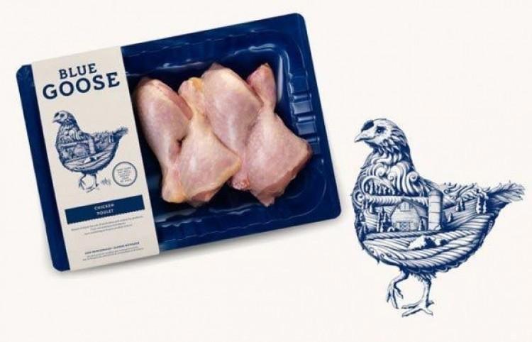 Organiczne Blue Goose Pure Food.