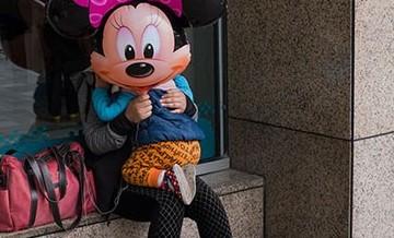 Czujne oko ulicznego fotografa z Chin.