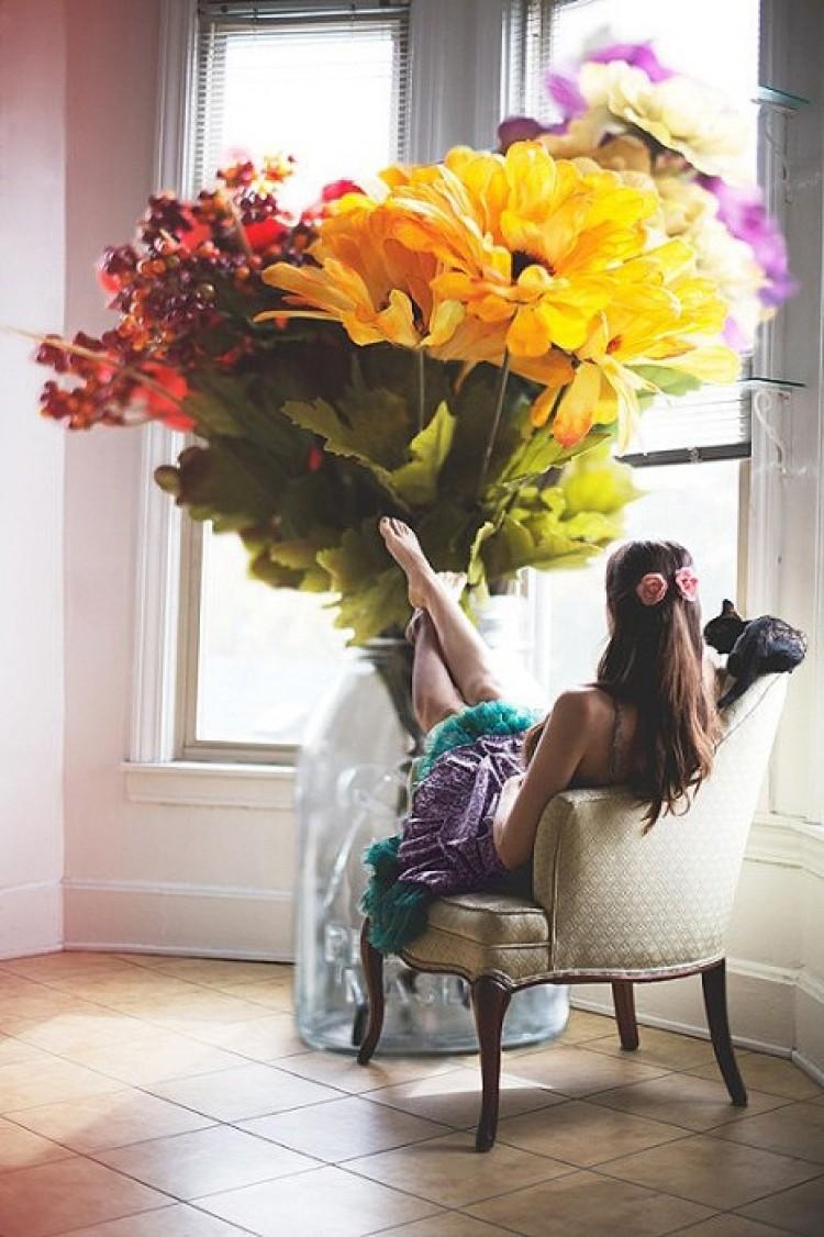 Bukiet kwiatów. Audrey Simper.