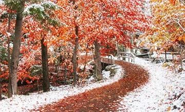 Gdzieś pomiędzy zimą a jesienią...