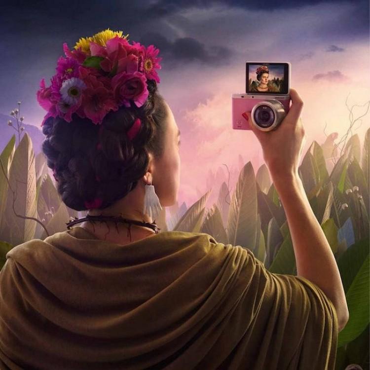 Fridy Kahlo.