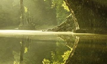 Most jak  z baśni.