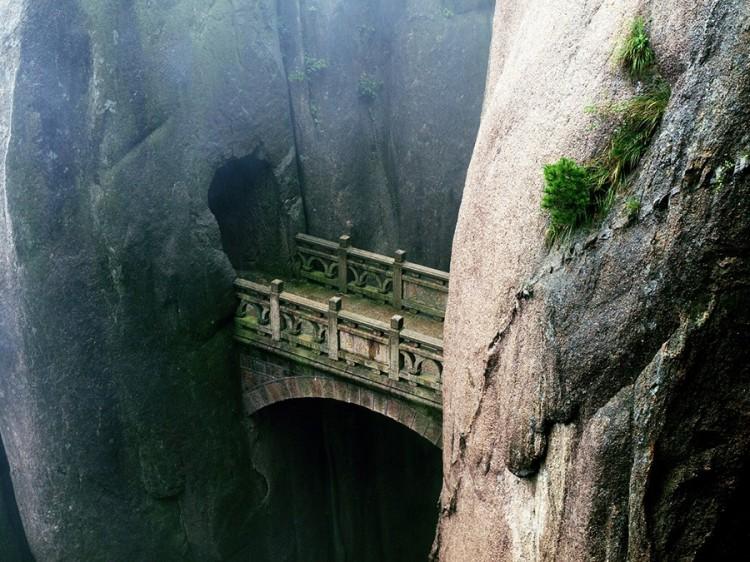 Most Nieśmiertelnych w Zółtych Górach, Chiny