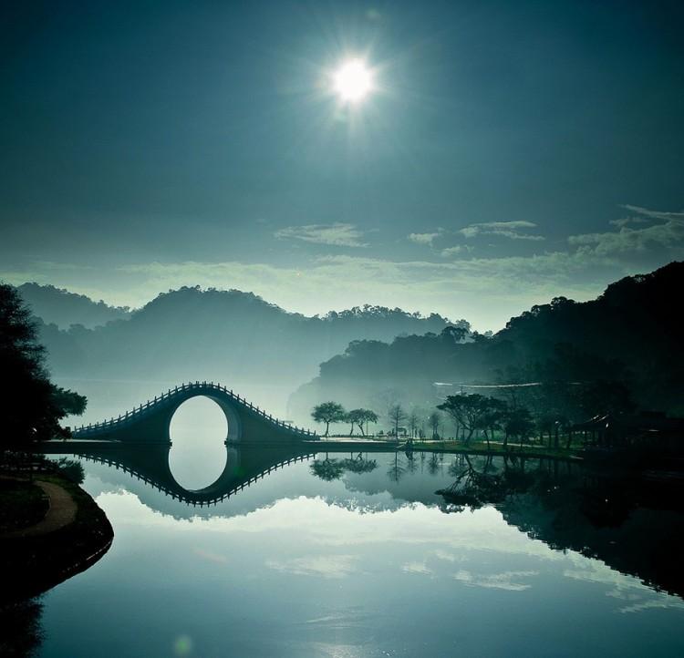 Księżycowy most, Taipei, Tajwan
