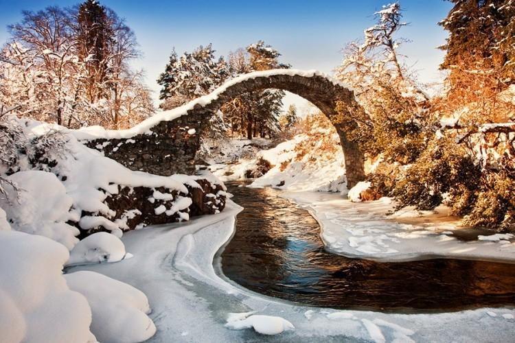 Carrbridge Packhorse most, Szkocja