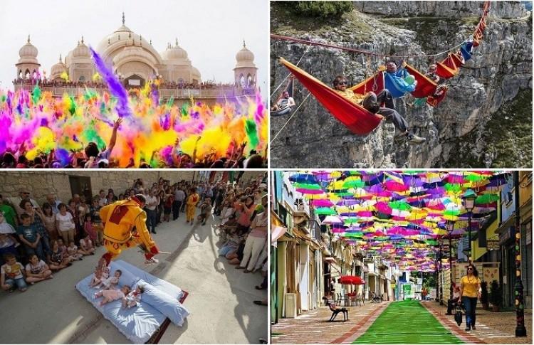 Najbardziej dziwaczne i zabawne festiwale świata.