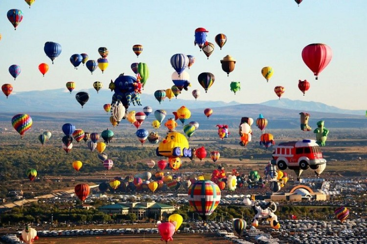 Albuquerque International Balloon Fiesta.