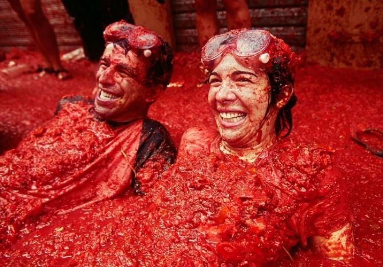 Bitwa na pomidory.