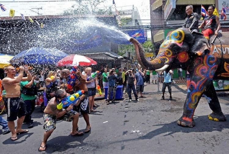 Songkran Water Festival.