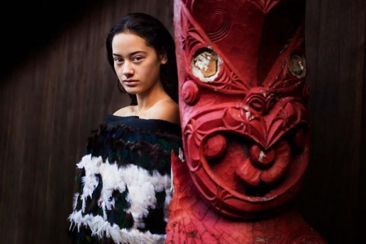 Świątynia Maorysów w Nowej Zelandii.