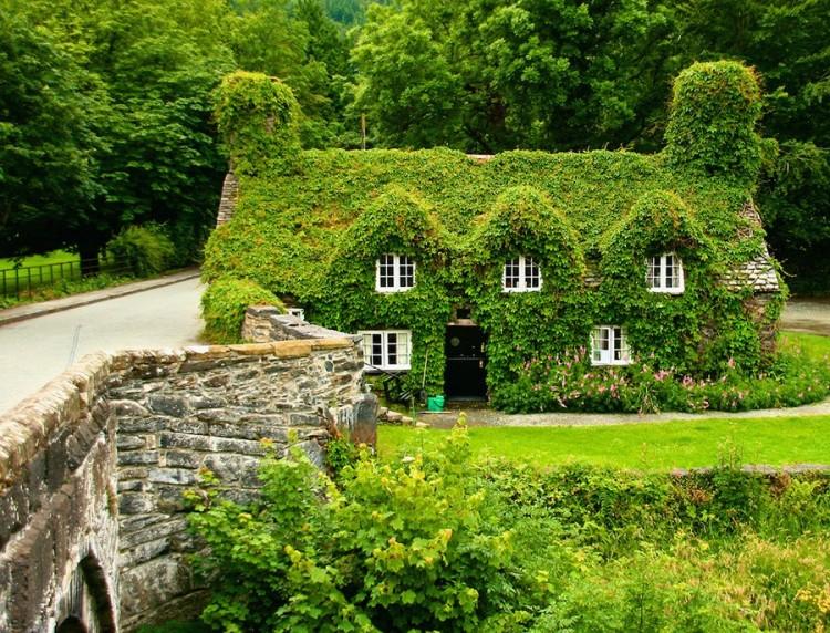 Herbaciarnia Tu Hwnt I'r Bont w Llanrwst, Wielka Brytania.