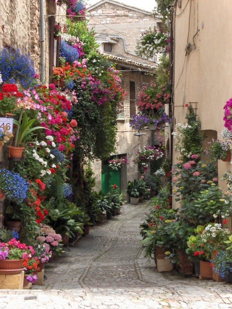 Spello, Włochy.