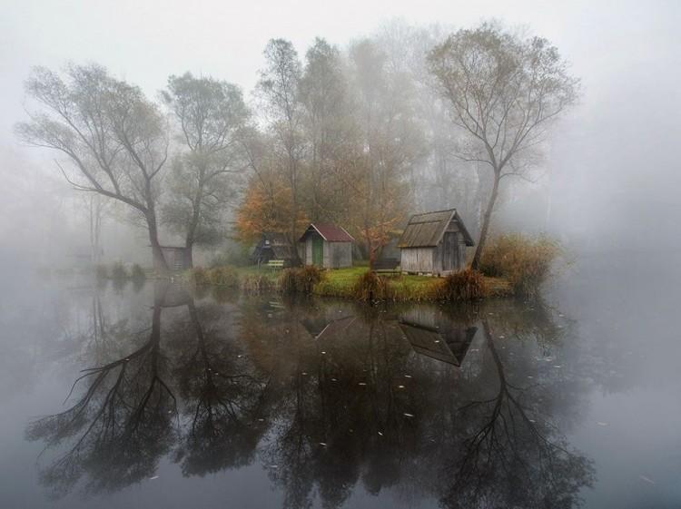 Węgierska wieś.