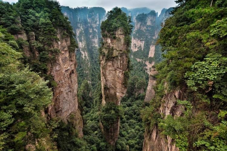 Zhangjiajie National Park, Chiny.