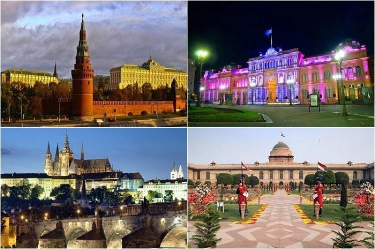 Najbardziej imponujące rezydencje głów państw z różnych krajów.