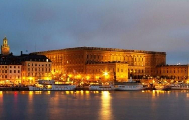 Pałac króla Szwecji.