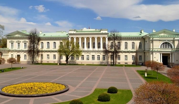 Główne biuro i siedziba prezydenta Litwy.