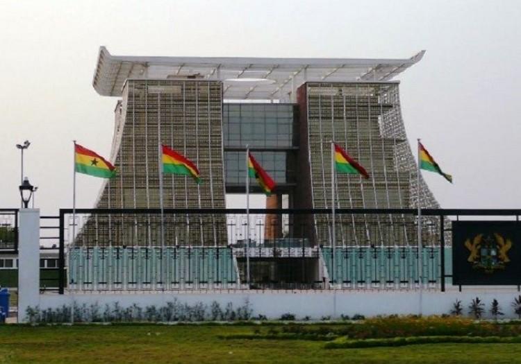 Pałac prezydencki w Akrze.