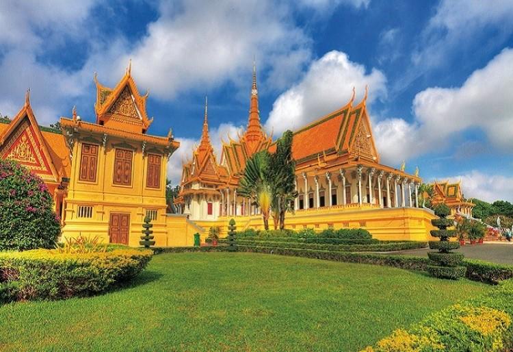 Oficjalna rezydencja króla Kambodży.