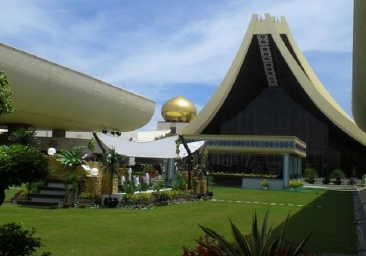 Oficjalna rezydencja sułtana Brunei.
