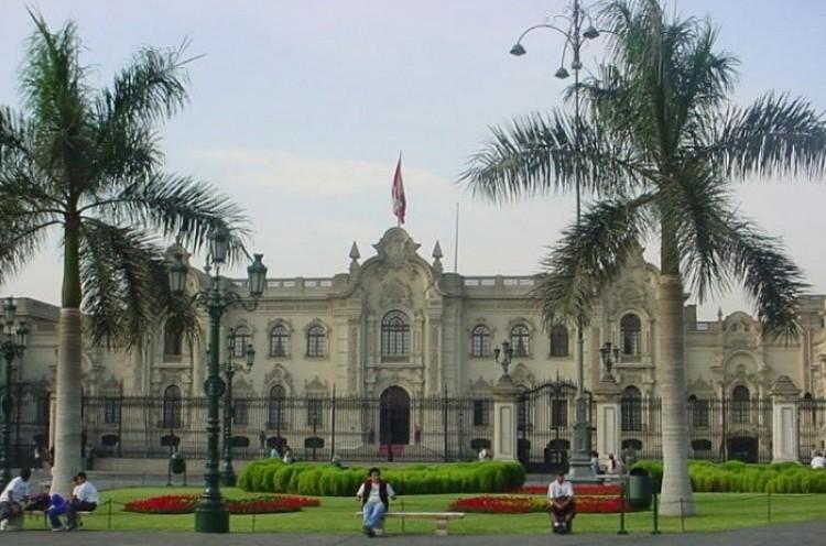 Rezydencja prezydenta Peru.