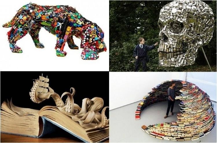 Recykling vs artyści.