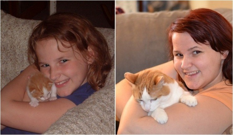 Miłość do jednego zwierzęcia od 11 lat.