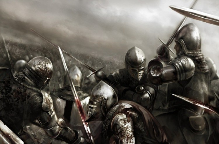 MEN AT ARMS MIDDLE AGES. (Średniowiecze).