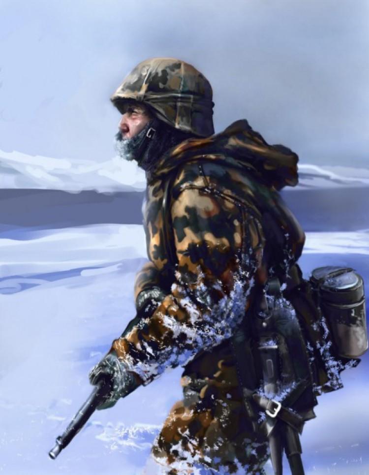 WEHRMACHT SOLDIER II WW. (II wojna światowa).