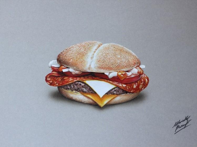 Nowy dzieła mediolańskiego artstyj Marcello Barenghi