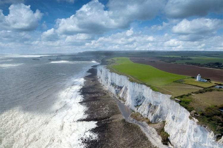 White Cliffs of Dover w Anglii