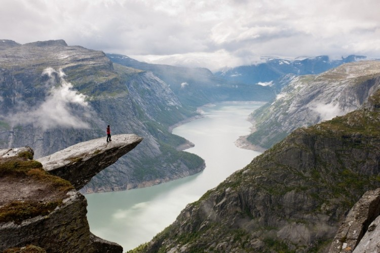 Język Trolla , Norwegia