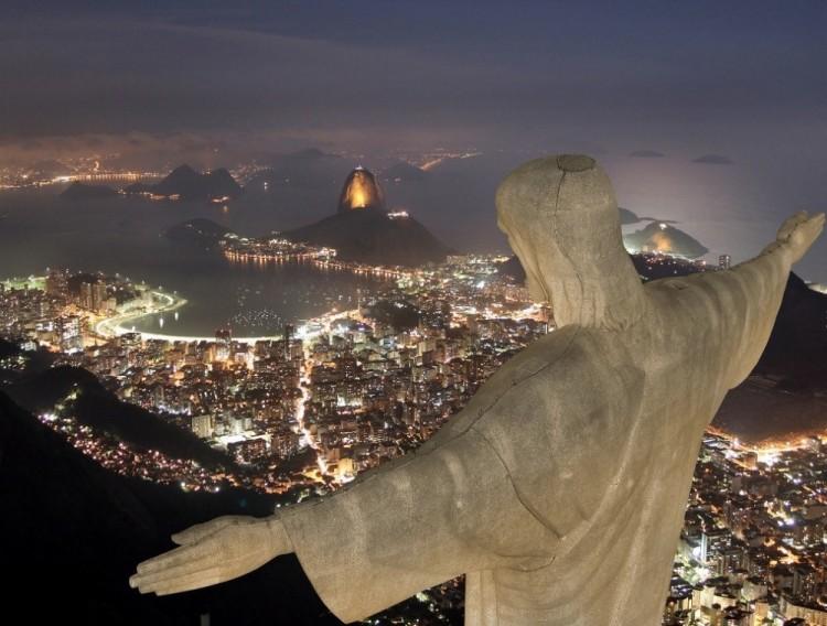 Góra Corcovado, Rio de Janeiro, Brazylia