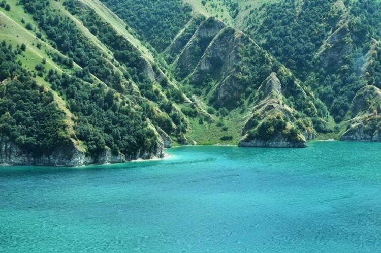 Jezioro Kezenoi am, Czeczenia, Rosja