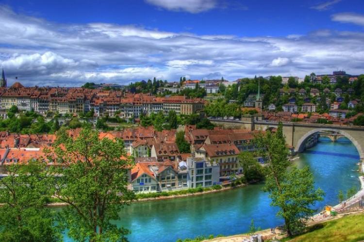 Według Goethego, Berno - najpiękniejsze miasto.