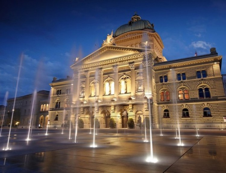 Berno - miasto fontann.