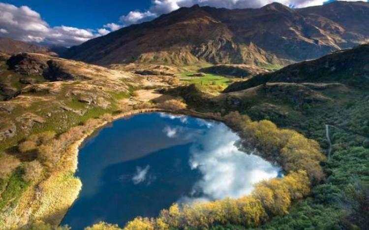 Jeziora w Nowej Zelandii.