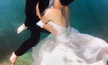Sesja ślubna pod wodą? Dlaczego nie!?