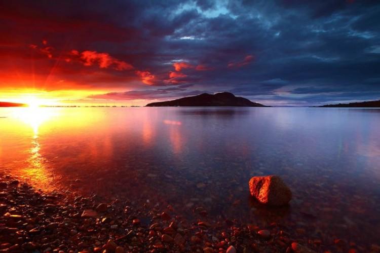 Arran -  wyspa w zachodniej Szkocji.