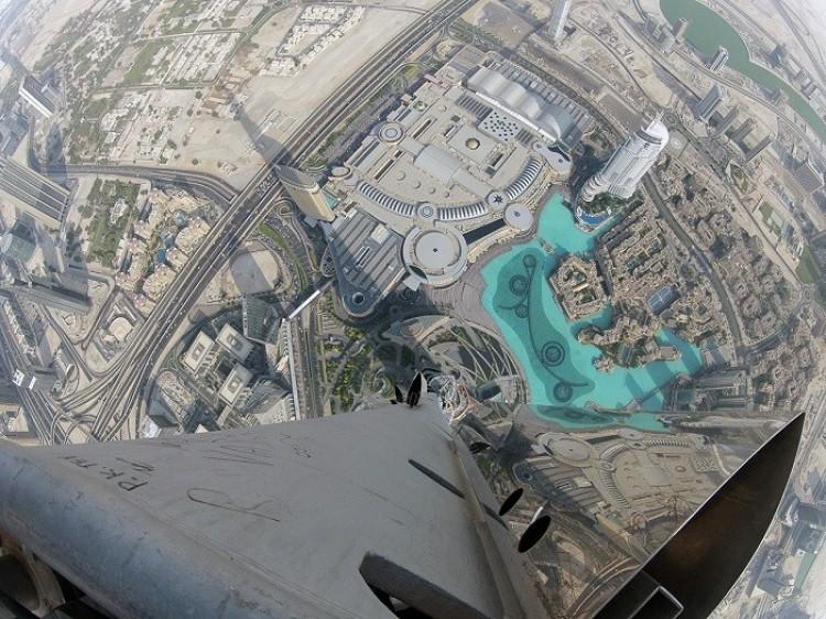 Burj Khalifa, Dubaj, Zjednoczone Emiraty Arabskie.