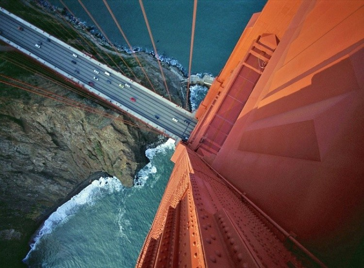 Golden Gate Bridge w San Francisco, USA.