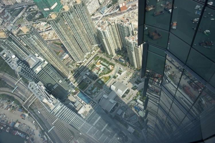 Międzynarodowe Centrum Handlowe, Hong Kong, Chiny.