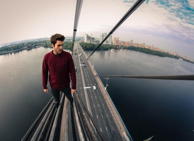Most Moskwiewski, Kijów, Ukraina.