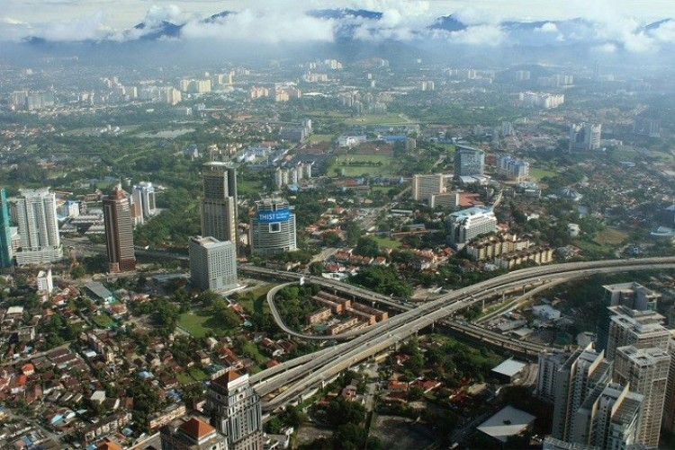 Petronas Twin Towers, Kuala Lumpur, Malezja.