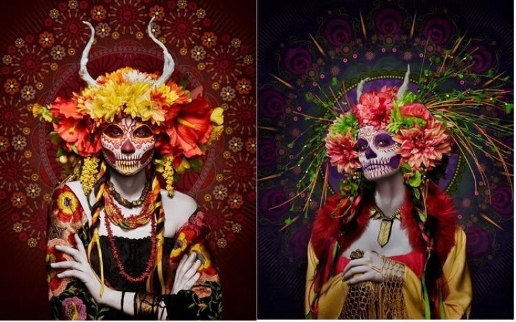 Meksycańskie Persefony: uwodzicielskie, piękne posłanki śmierci.