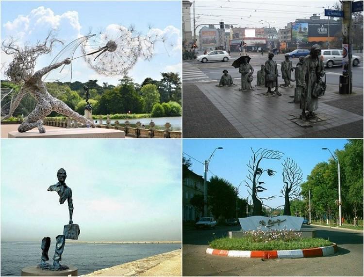 Najbardziej oryginalne posągi i rzeźby z całego świata.