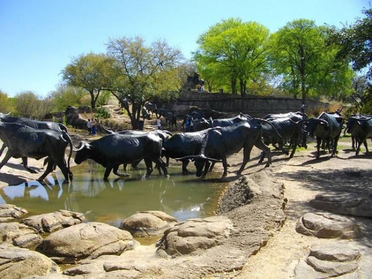 Przmyt bydła, Dallas, Stany Zjednoczone Ameryki